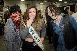 Jenna's appearance at Walker Stalker Con 2016